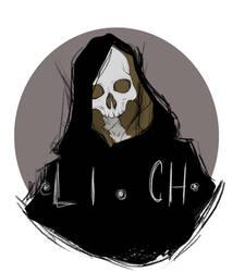 Lich [Patreon Tier Image] by Krovav