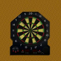 Dart Board by Ganymede105