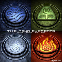 The Four Elements by Kyrus86