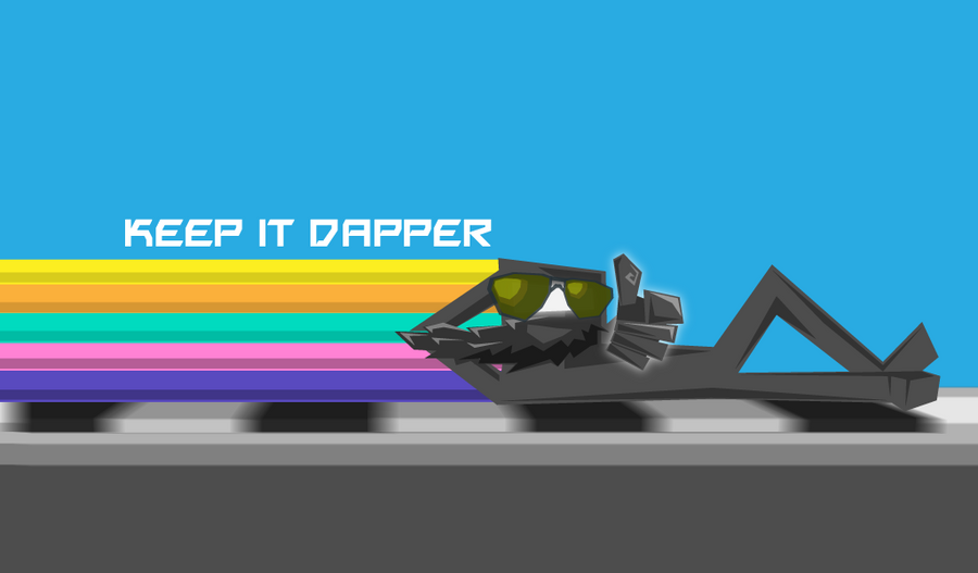 Bit. Trip Dapper by BlumanX