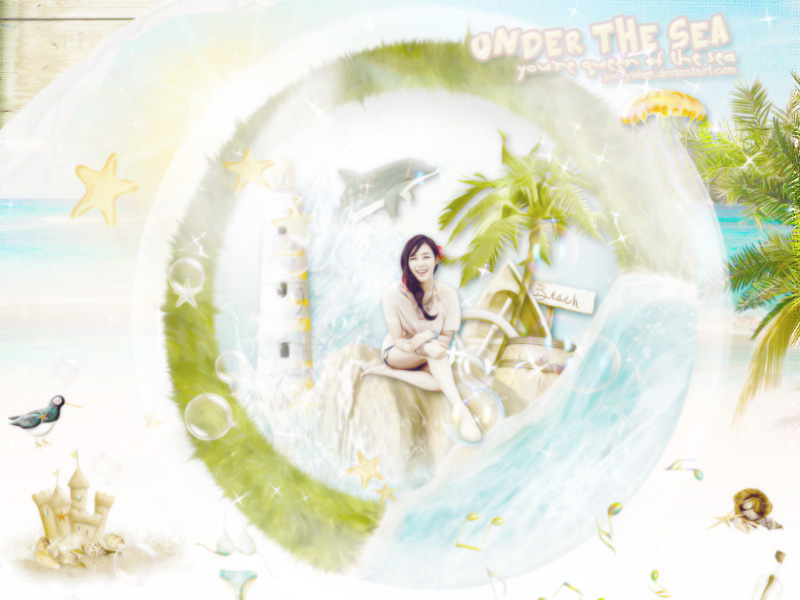 WALLPAPER - UNDER THE SEA by Yoo-YuHee