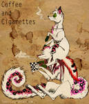 dogs. coffee and cigs