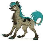 Fukari the hyena by Fukari