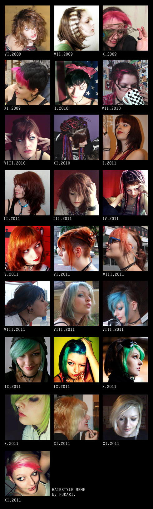hairstyle meme 2009-2011 by Fukari