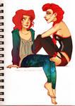 Chelle and Rita