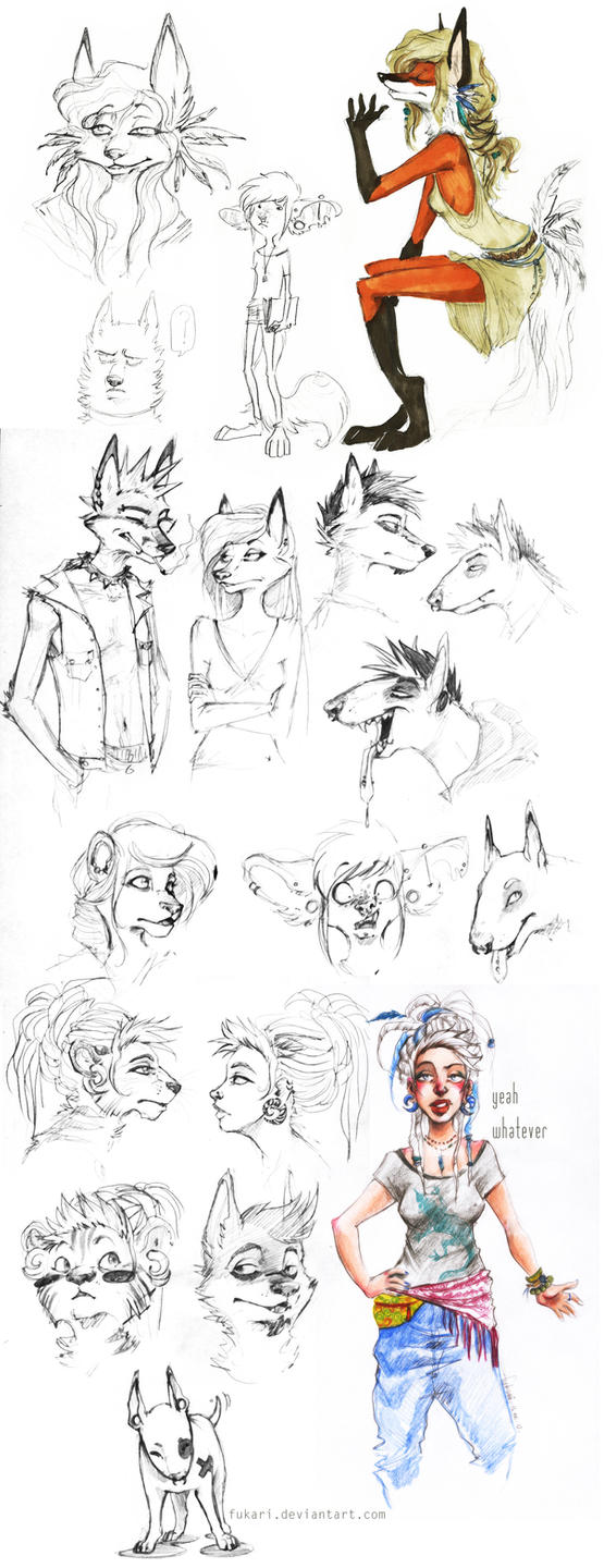 sketch dump by Fukari