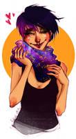 galaxy scarf