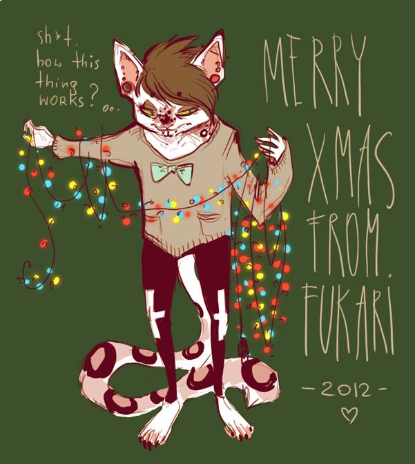 merry christmas by Fukari