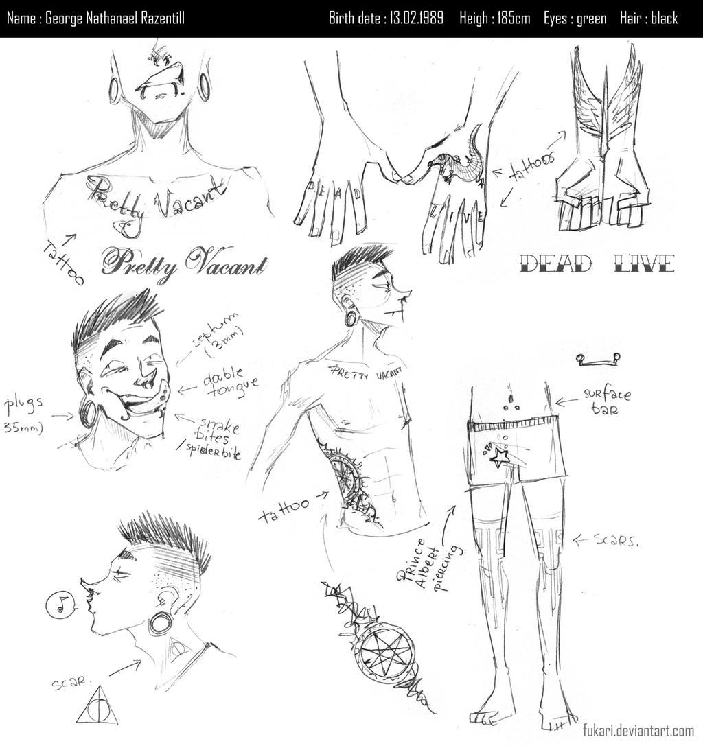 GEORGE ref sheet by Fukari