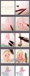 pastel goth girl - step by step by Fukari
