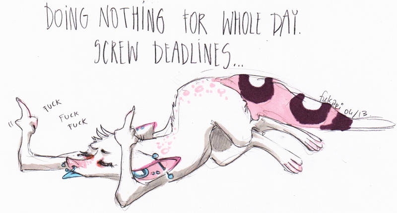 procrastination by Fukari