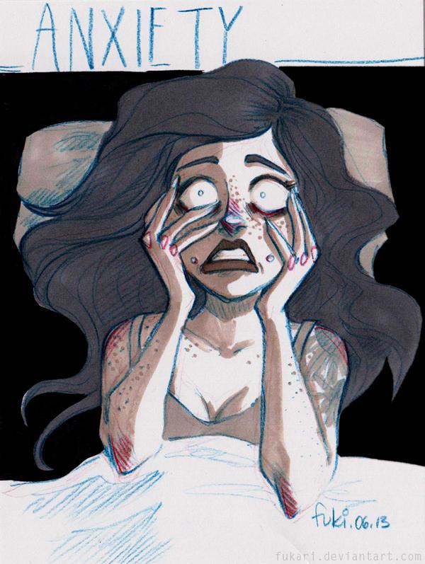 anxiety by Fukari on DeviantArt