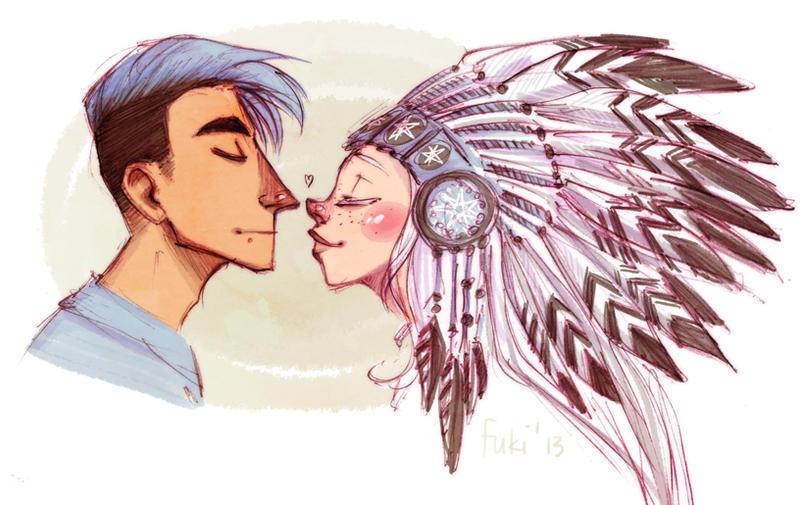 white hawk by Fukari