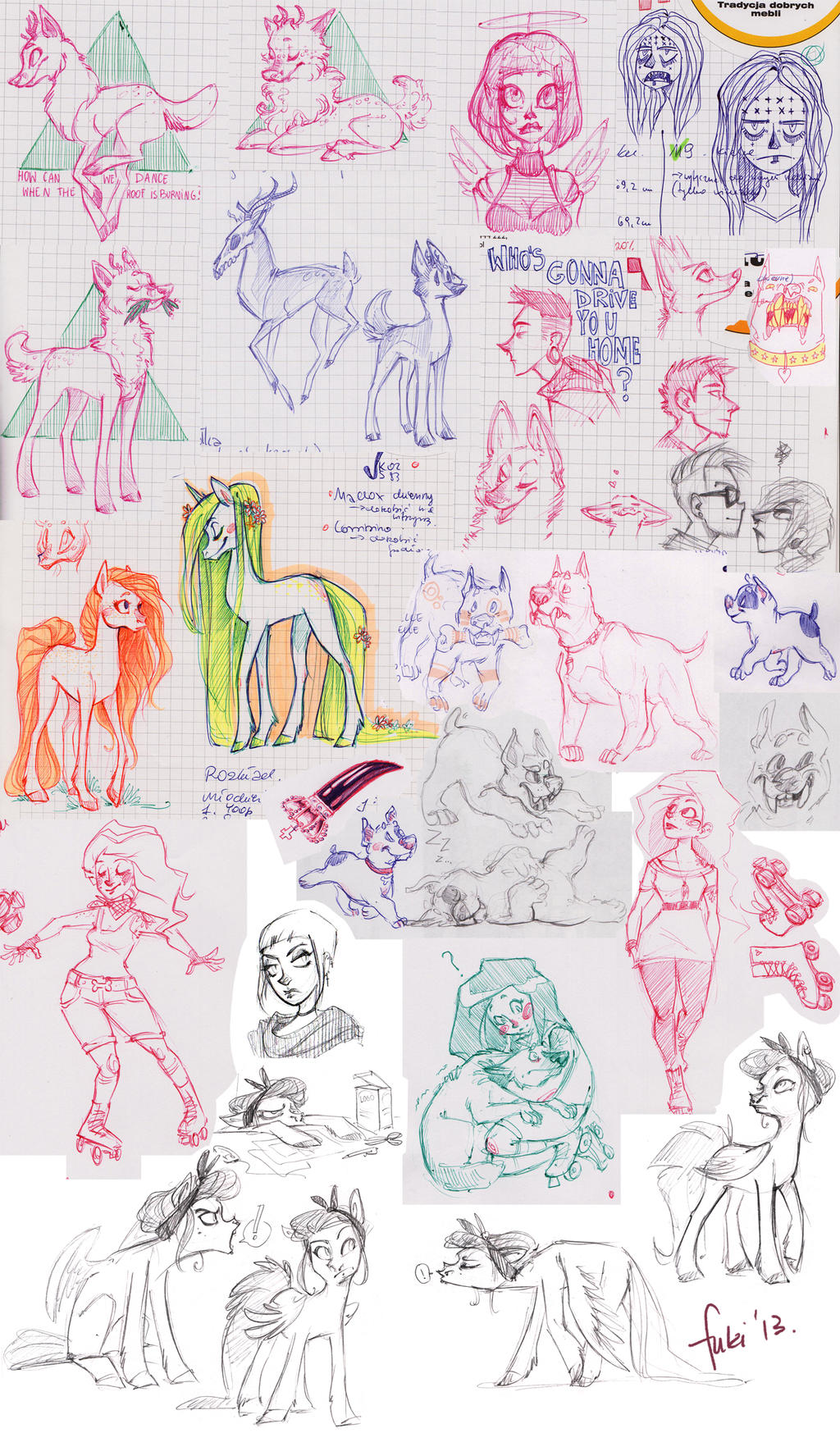 Sketch Dump By Fukari On DeviantArt