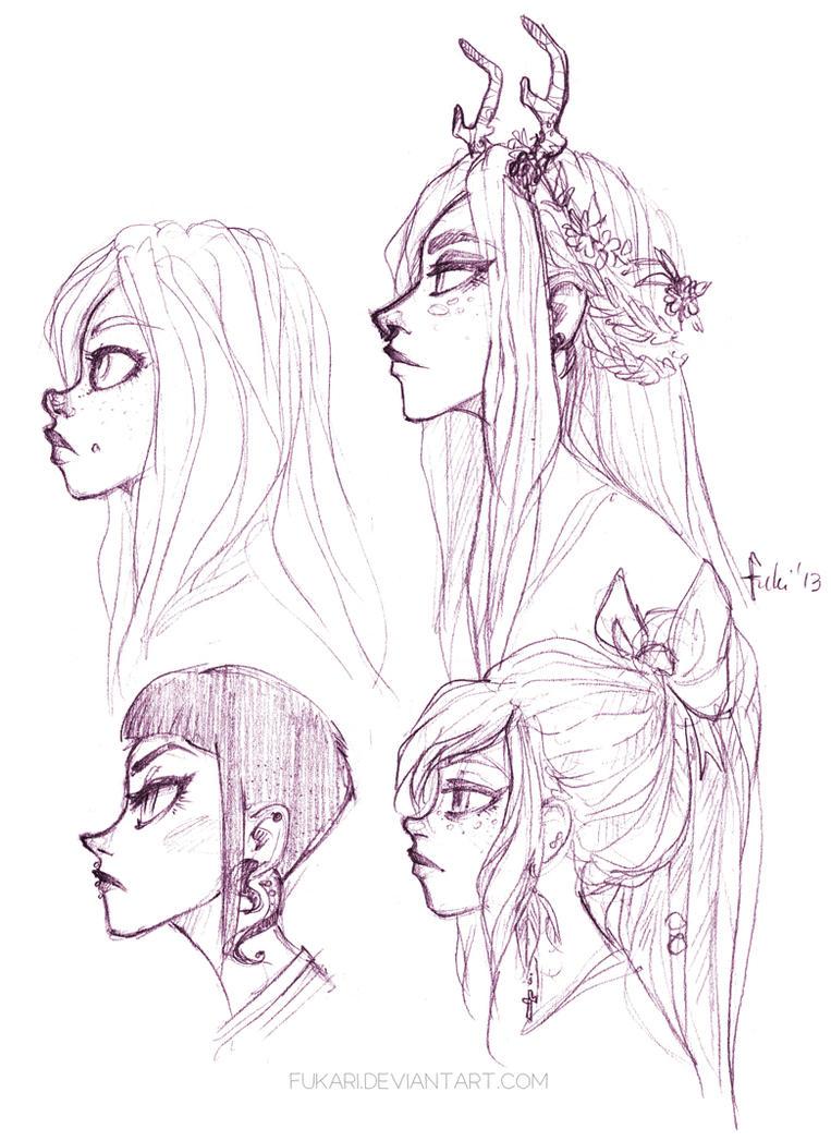 girls by fukari on deviantart