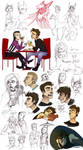 once upon a night..doodles happened by Fukari