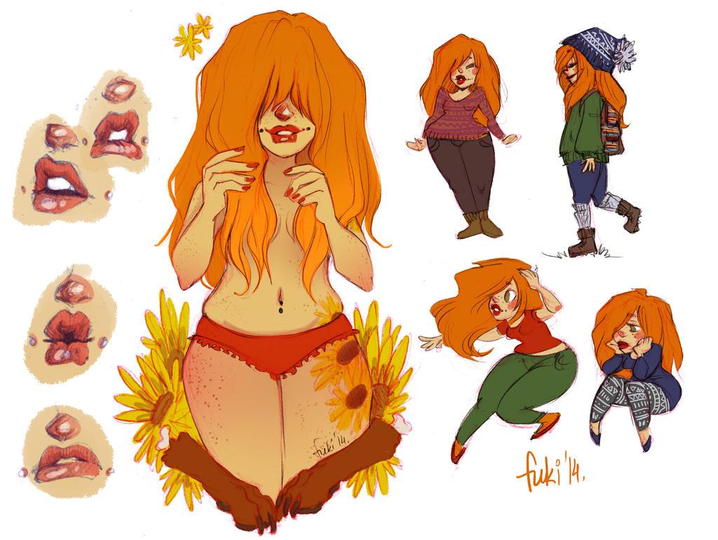sunflowers by Fukari