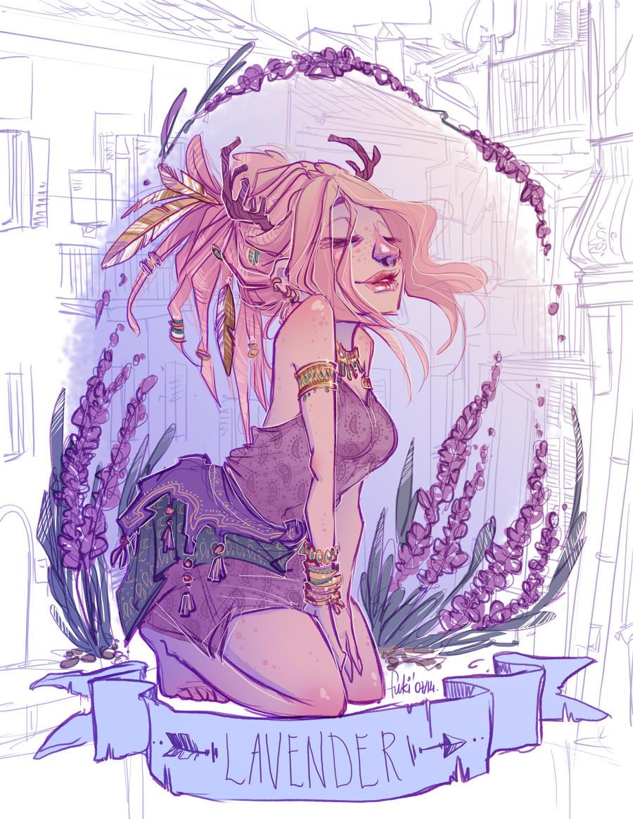 Dream of lavender scent by Fukari