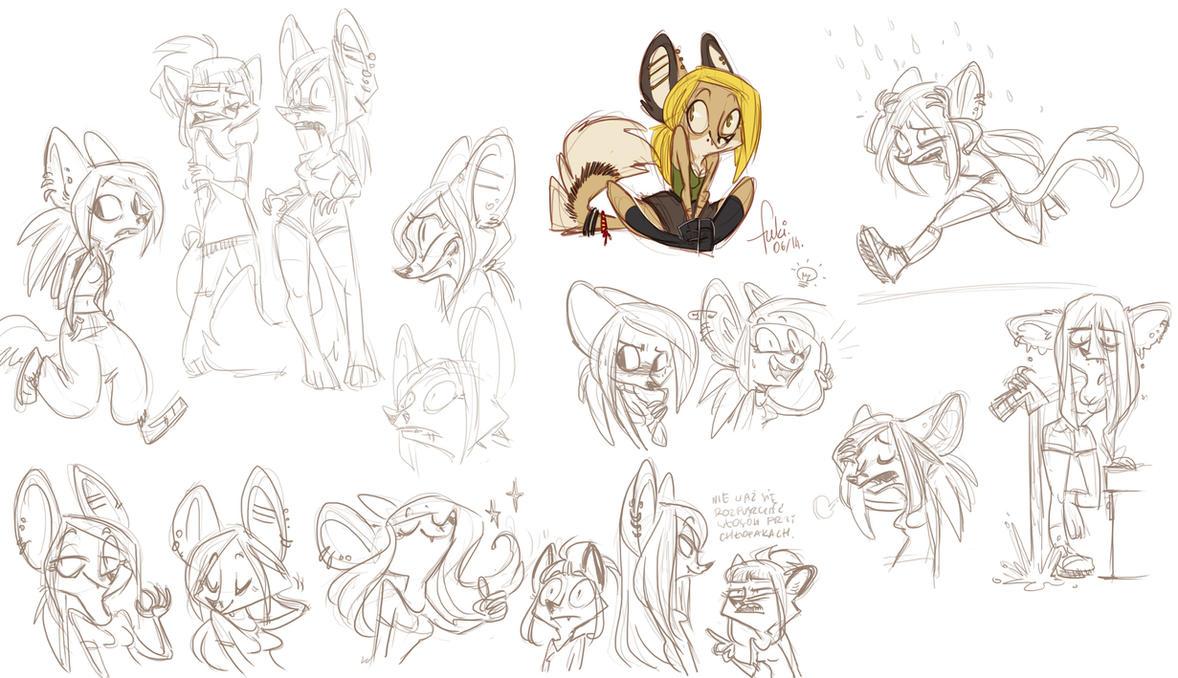 Agrafka - doodles by Fukari