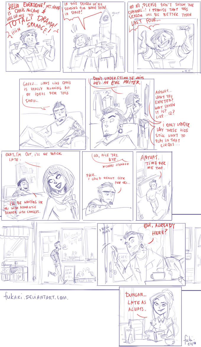 Total Drama Studies - 1 by Fukari