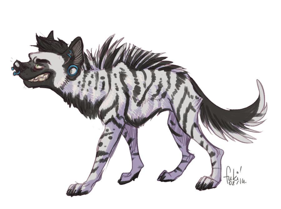 hyena boy by Fukari on DeviantArt