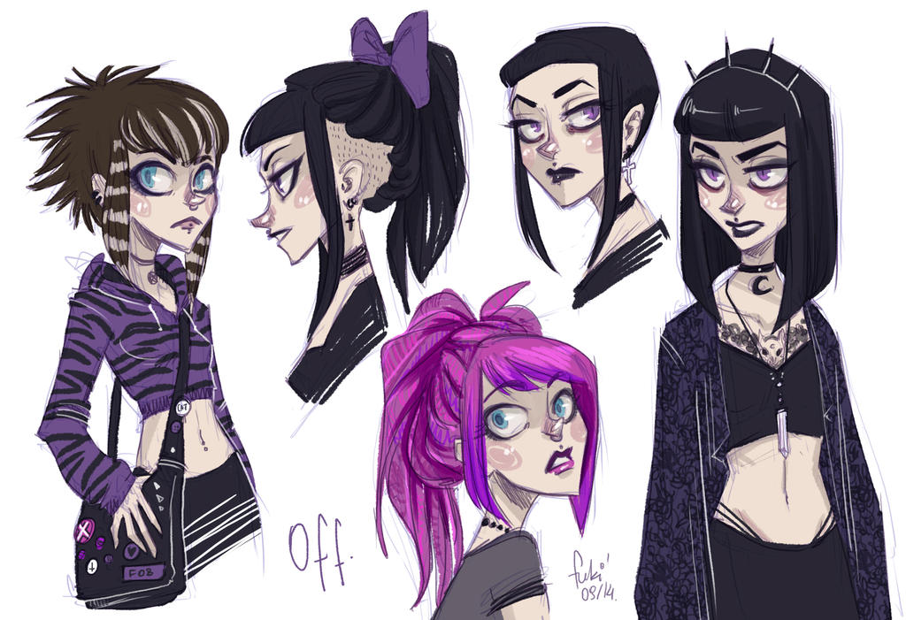 Hairstyle Drawings: Hairstyles By Fukari On DeviantArt