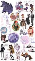 sketch dump - september