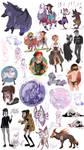 sketch dump - september by Fukari
