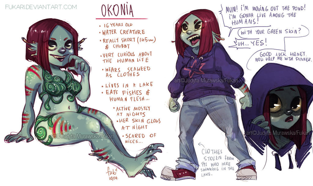 one day auction - Okonia - CLOSED by Fukari