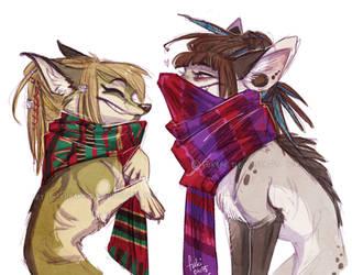 scarves by Fukari