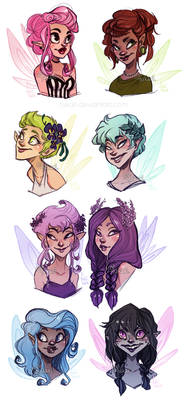 fairies - adoptable
