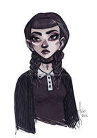 Miss Addams by Fukari