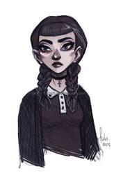 Miss Addams by Fukari