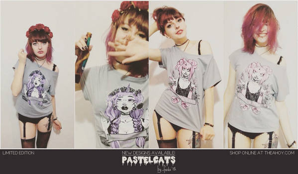 PASTELCATS - new tshirt designs