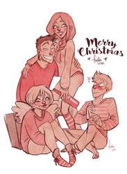Merriest Christmas by Fukari