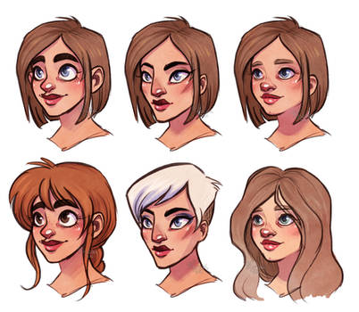 faces excercise