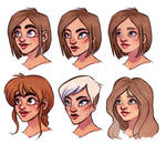 faces excercise by Fukari