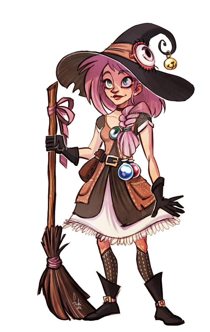 Character Design Kickstarter : Hiwitch kickstarter launched read description by