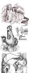 sketches by Fukari