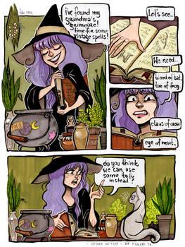 vegan witch