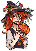 witchy Chelle by Fukari