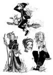 inktober - witches