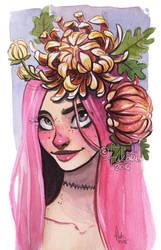 flower crown by Fukari