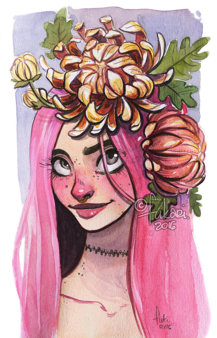 flower crown by Fukari
