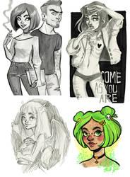 doodles by Fukari