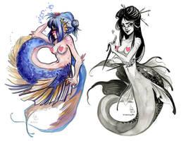mermaids by Fukari