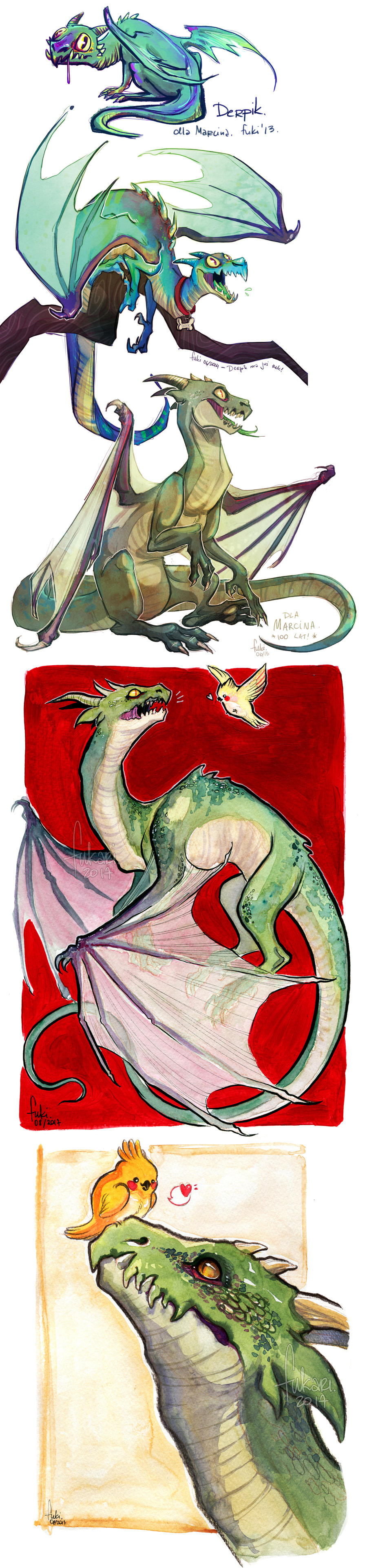 Derpik the dragon