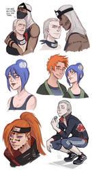 Akatsuki doodles
