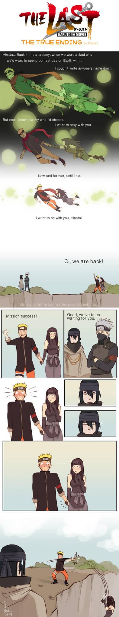 Naruto The Last - true ending