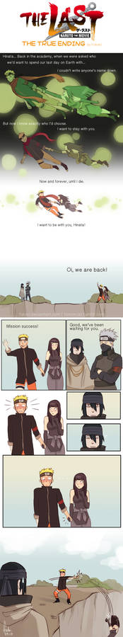 Naruto The Last - true ending